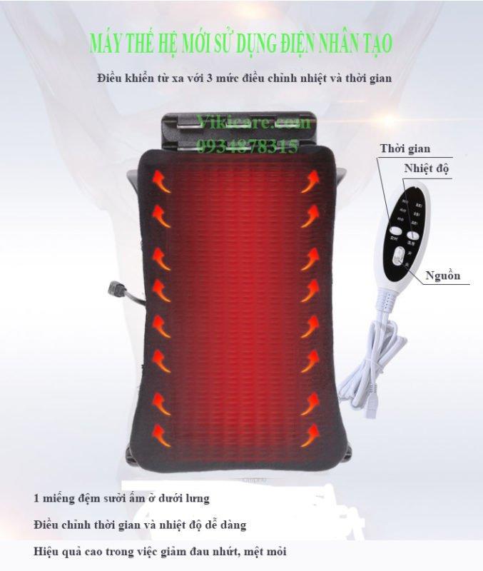 Máy nắn cột sống nhiệt phần cổ hay khung nắn cột sống cổ diện chuẩn từ 4