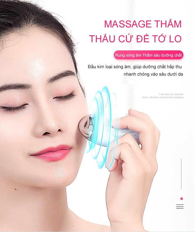 máy rửa mặt - máy massage mặt tại nhà 10