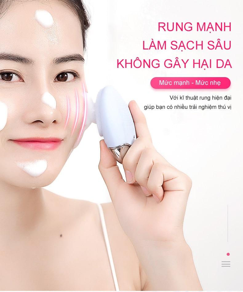 máy rửa mặt - máy massage mặt tại nhà 7