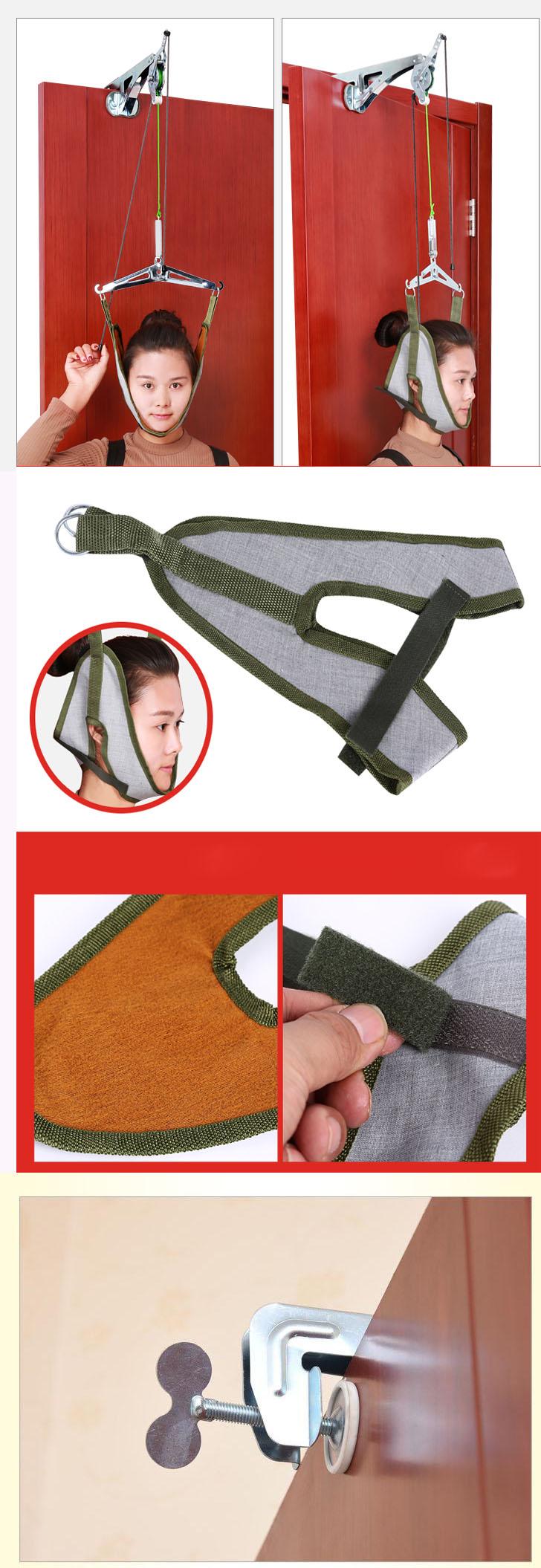 thiết bị dụng cụ kéo giãn đốt sống cổ - kéo cổ vật lý trị liệu 8 3