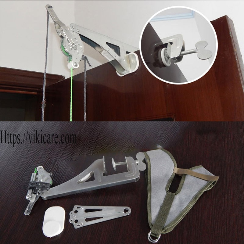 thiết bị kéo giãn đốt sống cổ - kéo cổ vật lý trị liệu 4