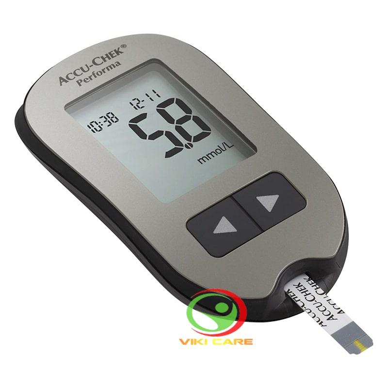 máy đo đường huyết - máy đo tiểu đường Accu Chek Performa 12