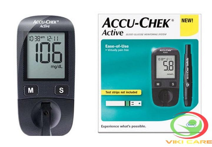 Máy đo đường huyết - máy đo tiểu đường Accu-Chek Active 14
