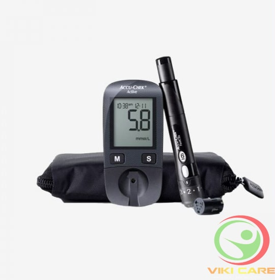 Máy đo đường huyết - máy đo tiểu đường Accu-Chek Active 12