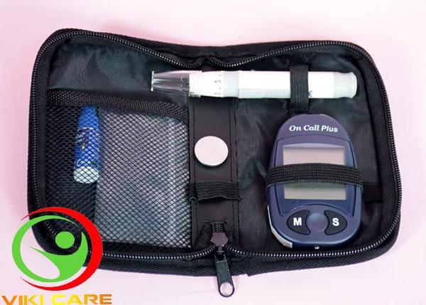 máy đo đường huyết on call plus 14
