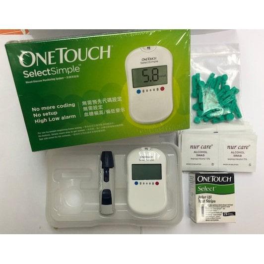 máy đo tiểu đường One Touch Select Simple