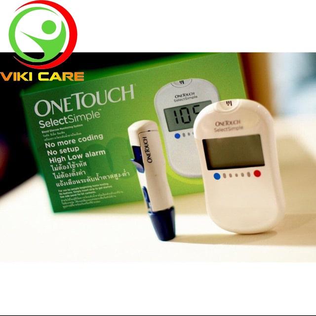 Máy thử đường huyết - Máy đo tiểu đường OneTouch Select Simple