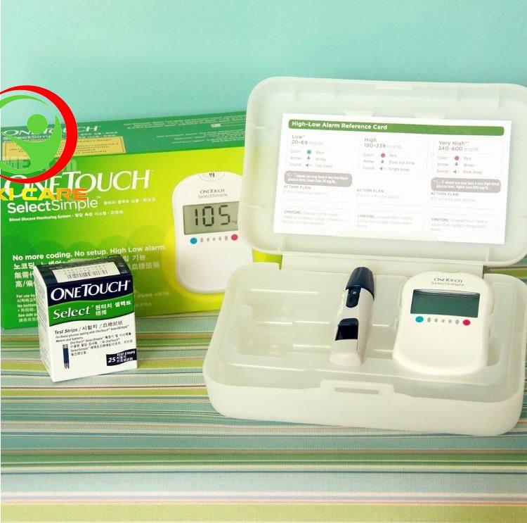 Máy thử đường huyết Johnson & Johnson OneTouch Select Simple